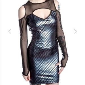Felicity Bodycon Dress Killstar